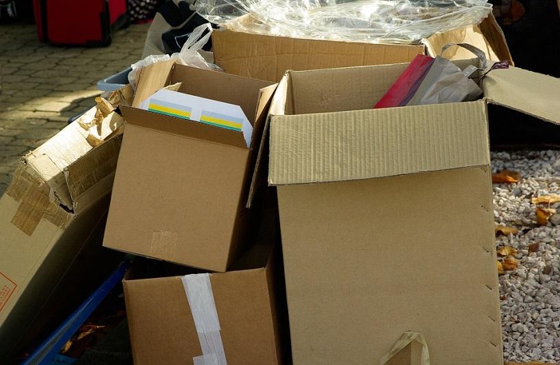 Trasloco organizzato: come riempire gli scatoloni in modo intelligente