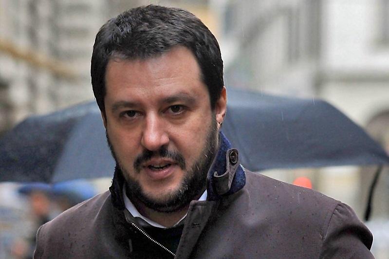 25 aprile monrealese: Matteo Salvini all'ombra del Duomo