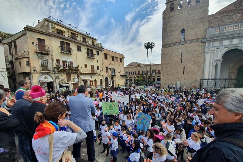 Studenti da tutta Italia a Monreale per celebrare la libertà e la democrazia