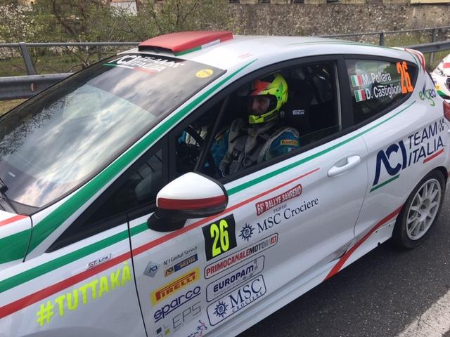 Marco Pollara, un siciliano in testa al campionato italiano Rally Junior