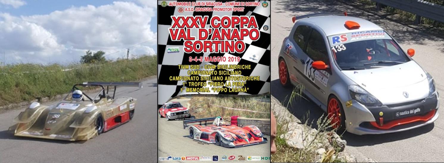 Coppa Val d'Anapo-Sortino, la scuderia monrealese Festina Lente davanti a tutti