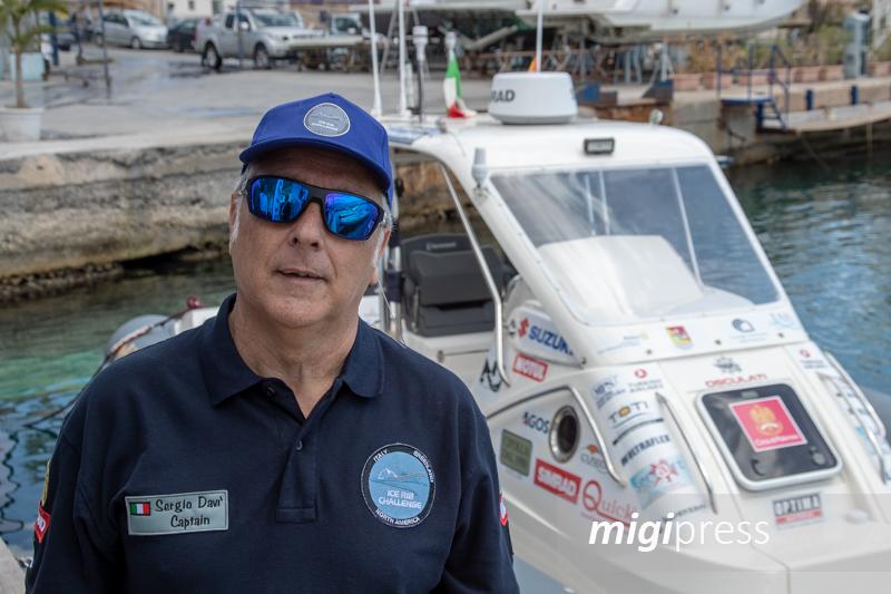 L'uragano Dorian ritarda l'impresa del monrealese Sergio Davì