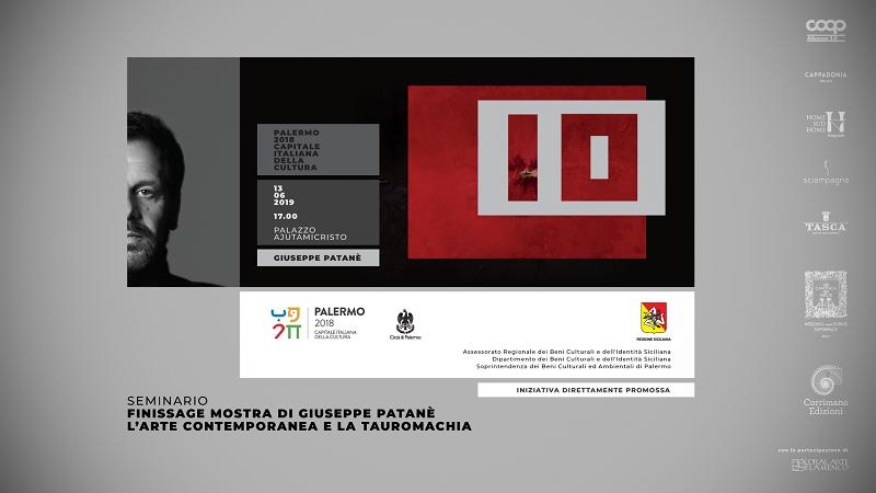 Giuseppe Patané tra tauromachia e arte contemporanea: il seminario