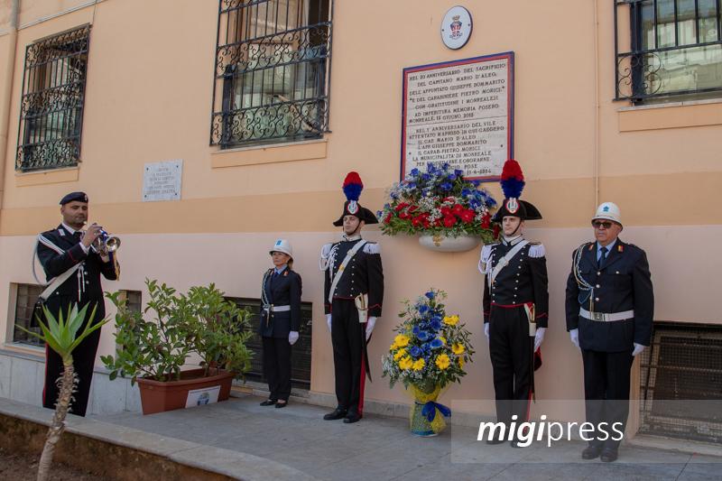 Monreale ricorda il suo eroe: cerimonia in memoria del capitano Mario D'Aleo