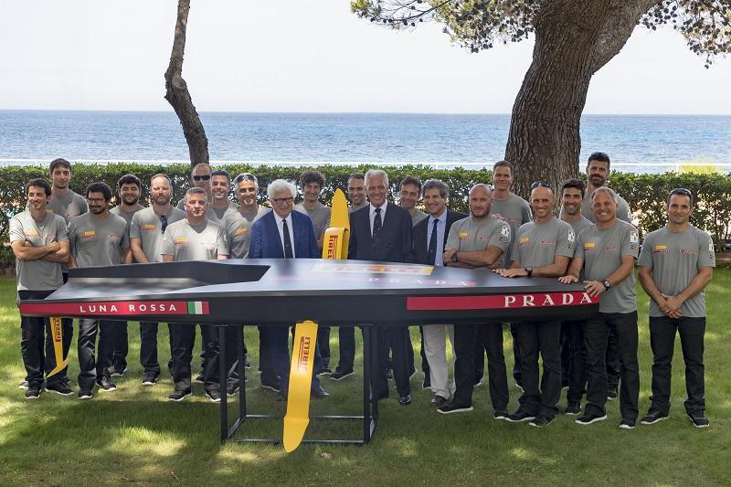 La sfida italiana all'America's Cup parte da Palermo: presentato Luna Rossa Pirelli Team