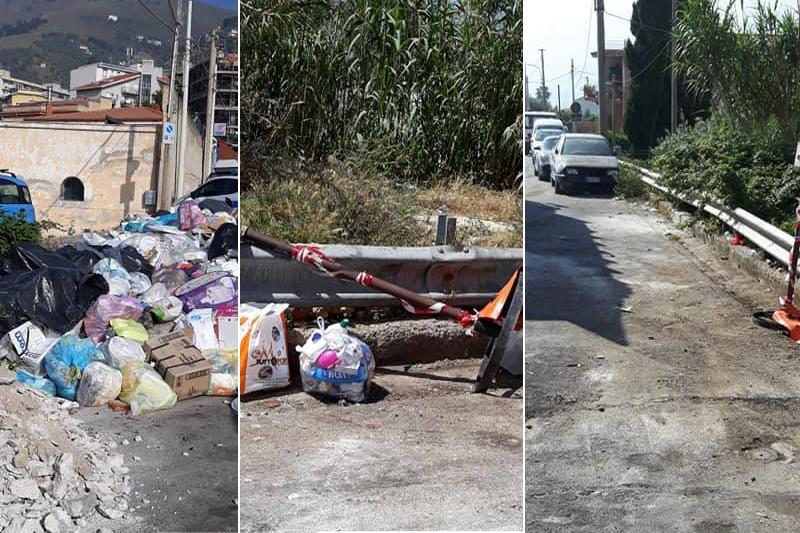 Via Aldo Moro, soliti incivili: rifiuti rimossi, primi sacchetti poco dopo