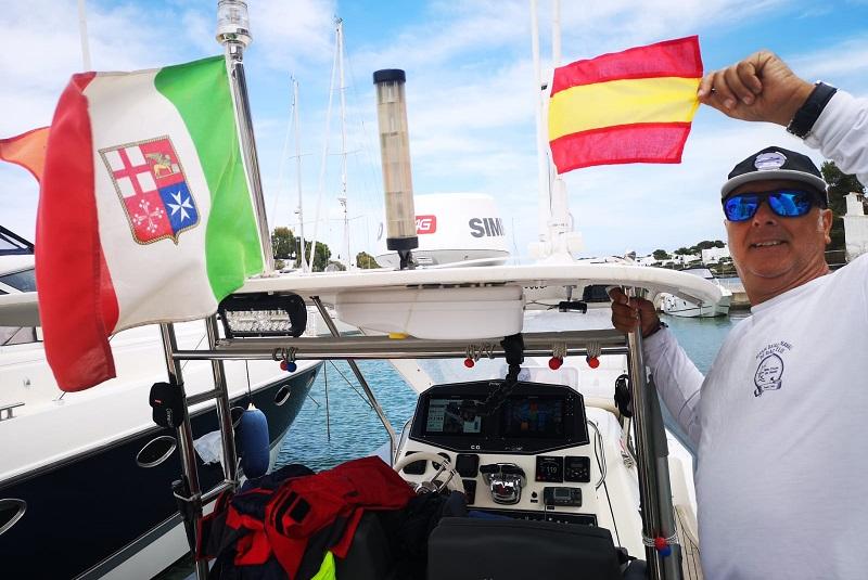 Ice Rib Challenge, Sergio Davì saluta il Mediterraneo: prossima tappa Cascais