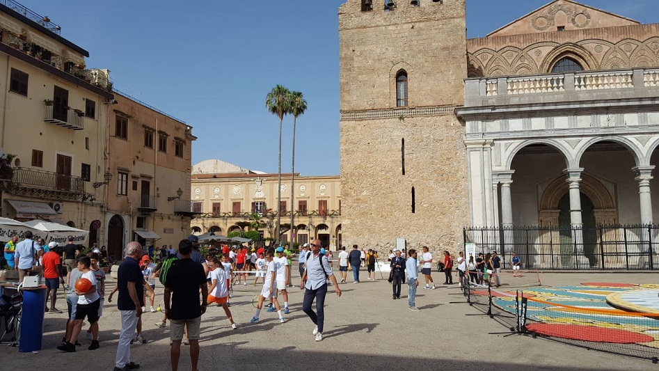 "Tennis in Piazza, Palpacelli: ""Grande location, per un grande sport"""