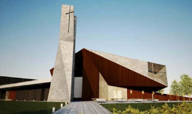 La nuova chiesa grazie all'8 x Mille, la benedizione di Monsignor Pennisi