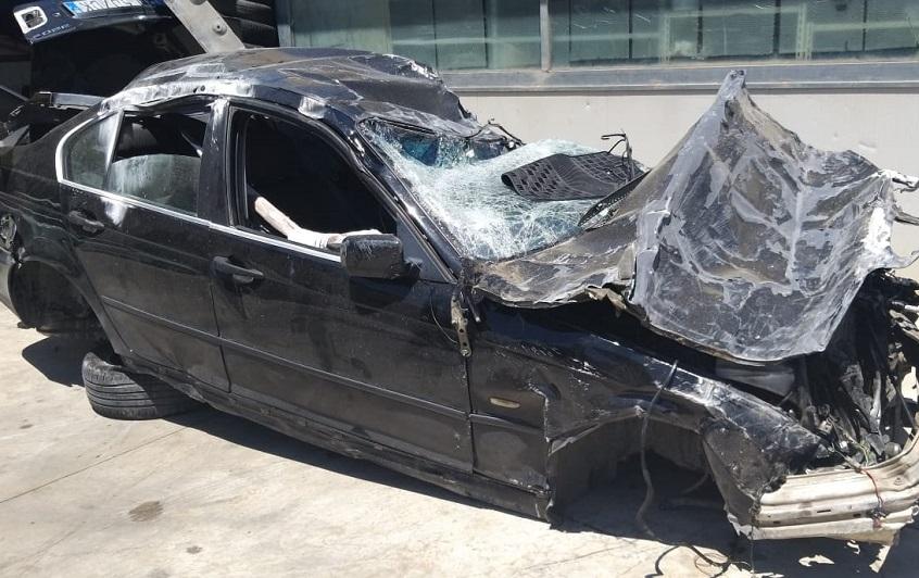 L'incidente sulla A29, il papà guidava sotto effetto di droghe