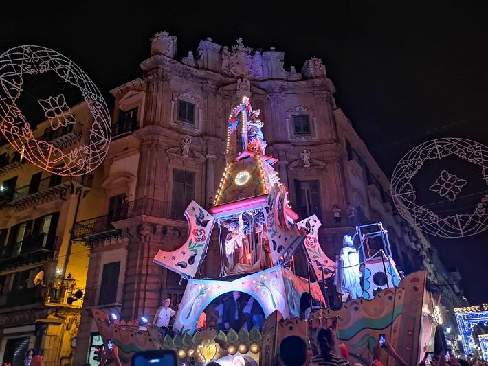 """Il Festino diventa un film: """"salta"""" la tradizionale processione di Santa Rosalia"""