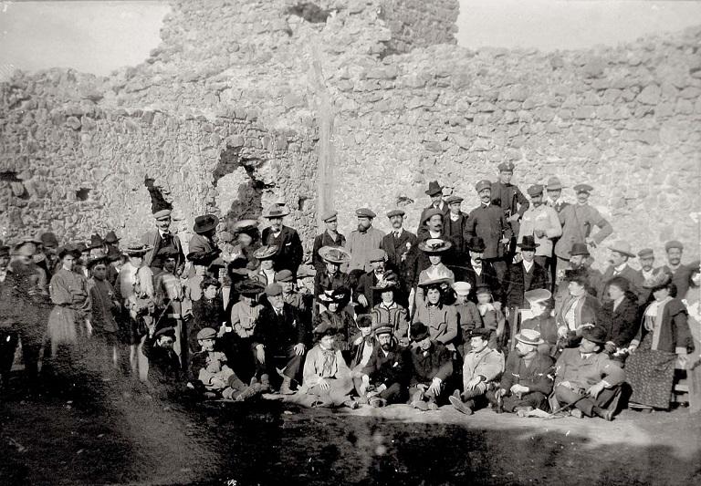 Le foto imperdibili del Castellaccio dalla fine dell'Ottocento al dopoguerra