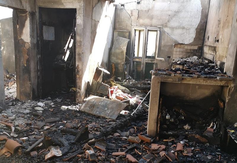 Gli incendi a San Martino, ecco il conto corrente dove fare le donazioni