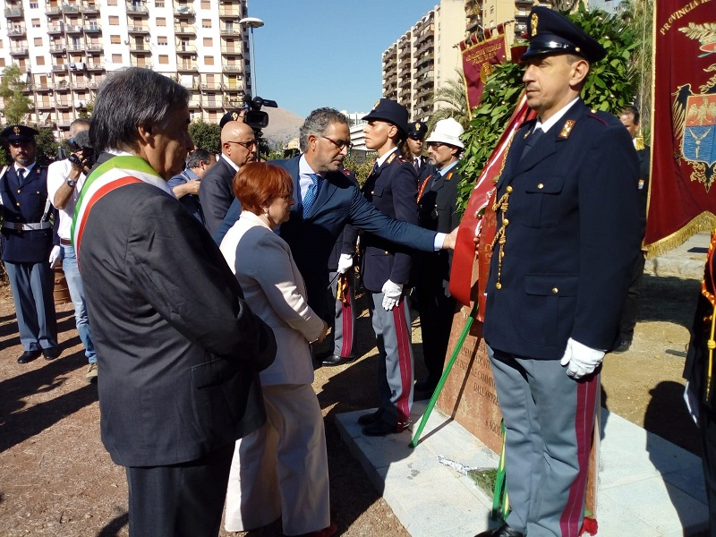 Palermo, due cerimonie in memoria di Roberto Antiochia, Ninni Cassarà e Gaetano Costa