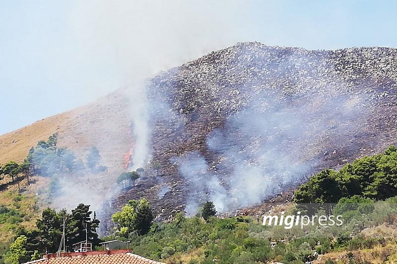 Pioppo, ancora incendi nel territorio: brucia Renda