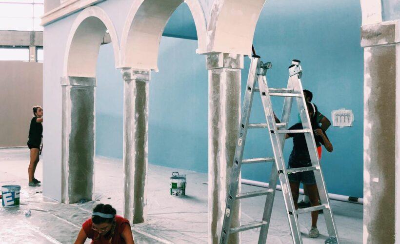 Il Duomo e il Cristo Pantocratore in mostra: a Rimini si lavora senza sosta