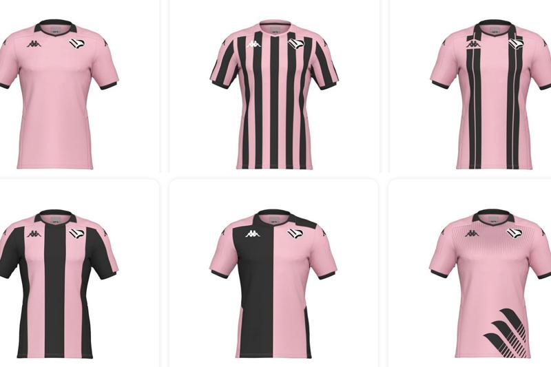 Palermo, saranno i tifosi a scegliere la nuova maglia ufficiale del club