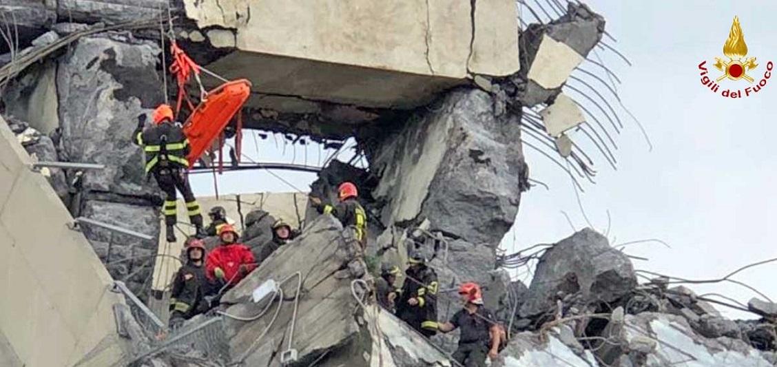 Un anno fa il crollo del Ponte Morandi: Genova si ferma per ricordare le vittime