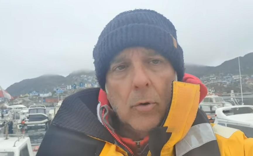 Disavventura per Sergio Davì: in Groenlandia ladri a bordo del Nautilus