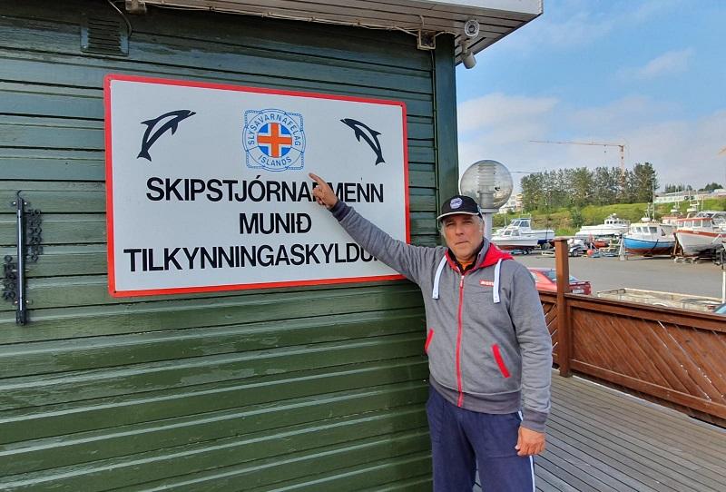 Sergio Davì ed il suo Nautilus Explorer tra Islanda e Groenlandia