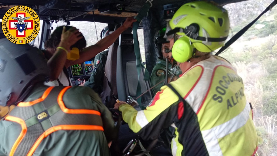 Bambina accusa malore: intervento del Soccorso Alpino e dell'Aeronautica