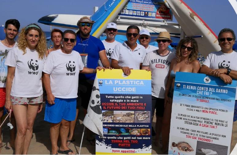 Weekend plastic free: due appuntamenti del Wwf per ripulire il mare