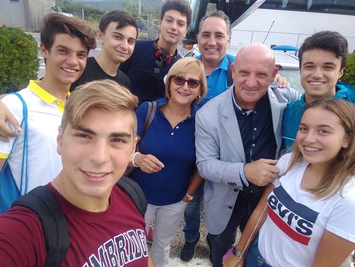 Da Monreale a L'Aquila per il primo giorno di scuola insieme al presidente Mattarella