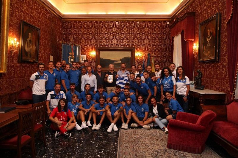 Monreale Calcio, inizia la stagione: il sindaco Arcidiacono incontra la squadra