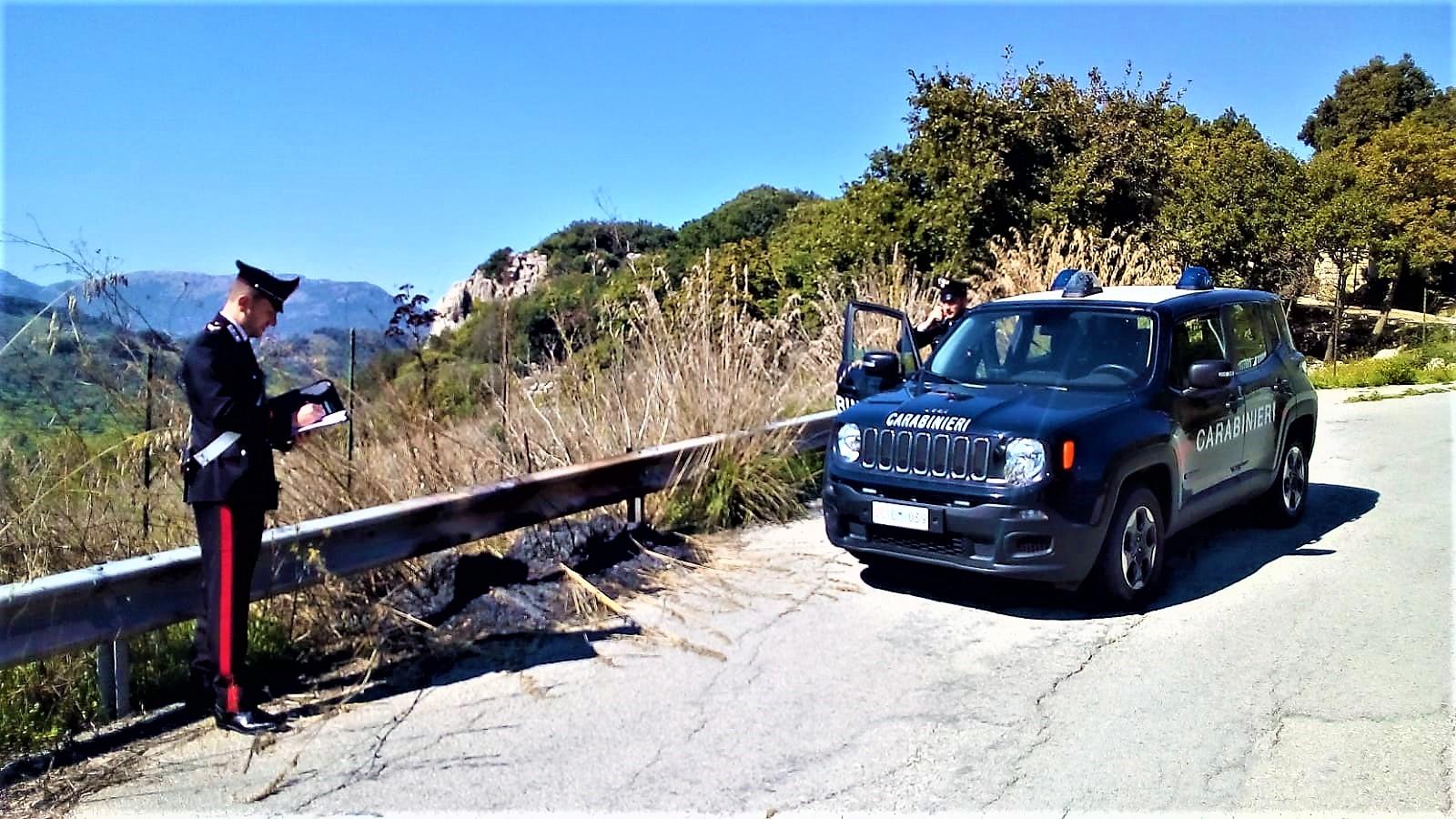 Appicca incendio nella riserva naturale: carabinieri arrestano piromane