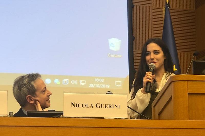 Un premio a Montecitorio all'attrice monrealese Denise Sardisco