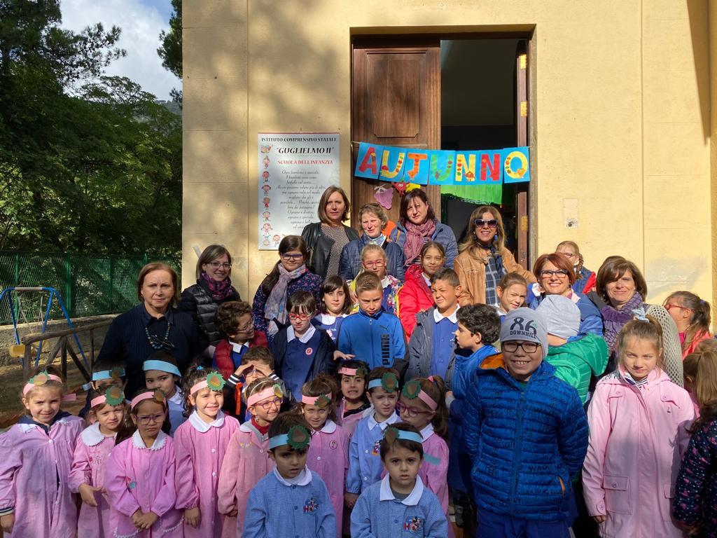 """Anche per i bambini di San Martino e Villaciambra c'è la """"Festa delle castagne"""""""
