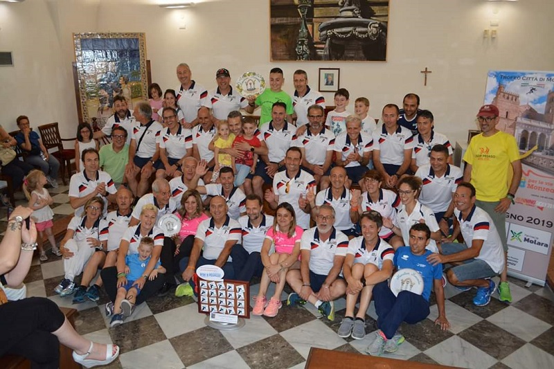 """Atletica, gli uomini della Marathon Monreale vincono il """"Running Sicily"""""""