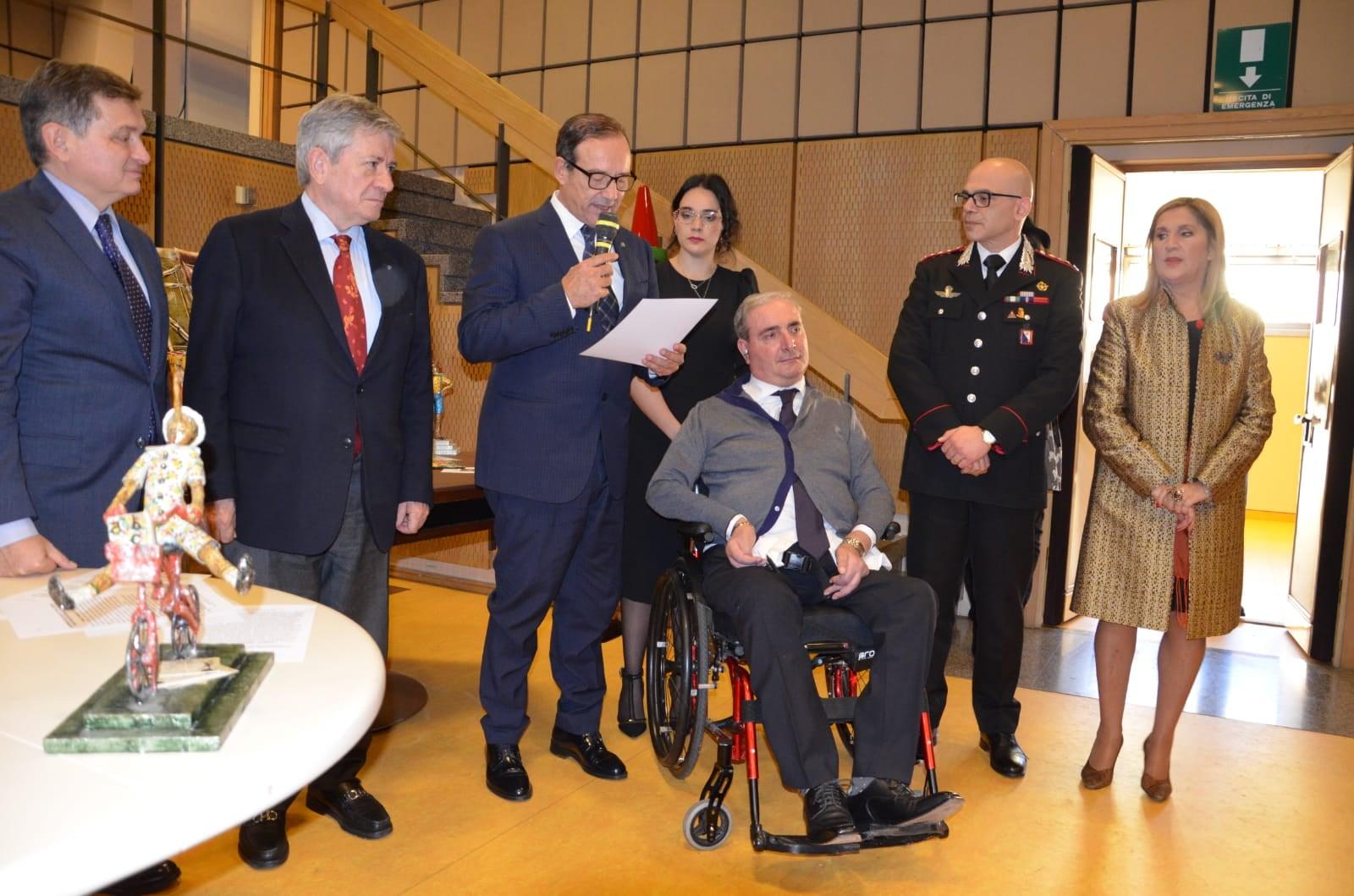 """Al monrealese Giuseppe Giangrande il premio """"Pinocchio di Carlo Lorenzini"""""""