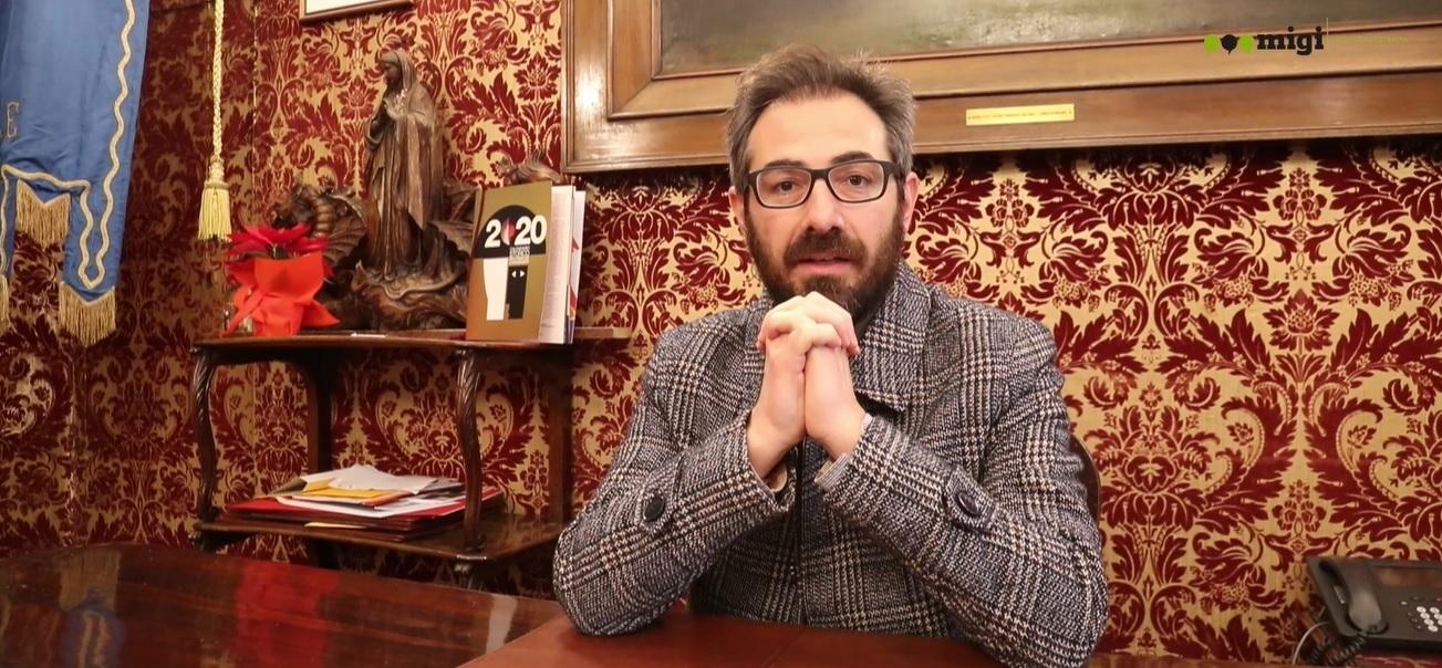 """Il sindaco Arcidiacono ai monrealesi: """"Il Natale porti grande serenità a voi tutti"""""""