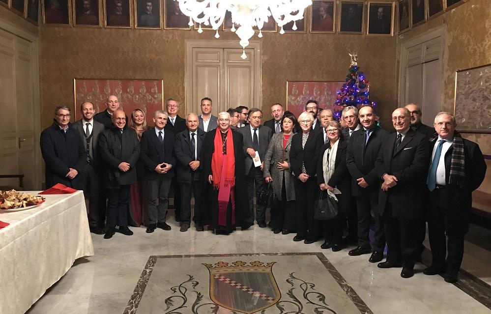 Monreale, l'arcivescovo Pennisi incontra i sindaci del territorio