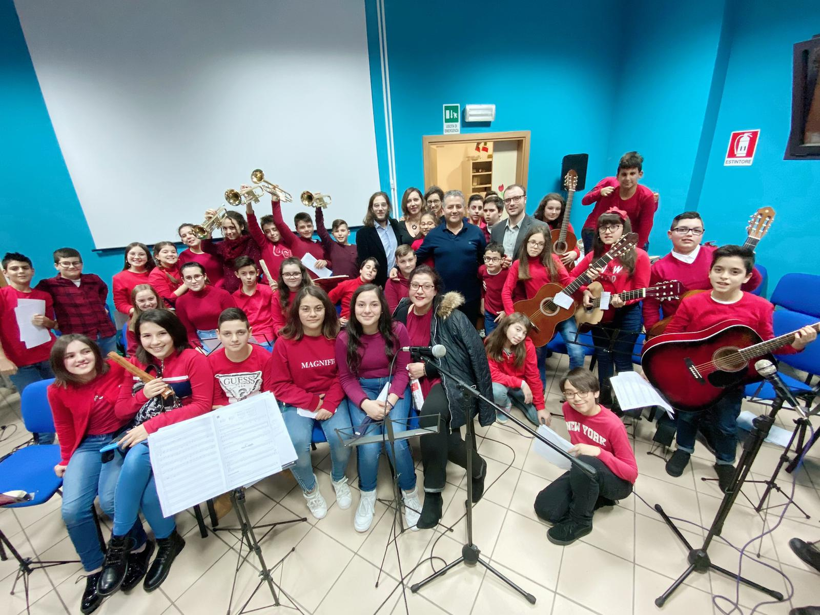 Il primo concerto degli studenti della Navarra: ed è subito magia