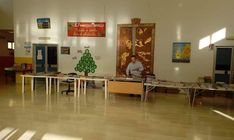 Il Natale si avvicina, torna la fiera del libro nelle scuole monrealesi