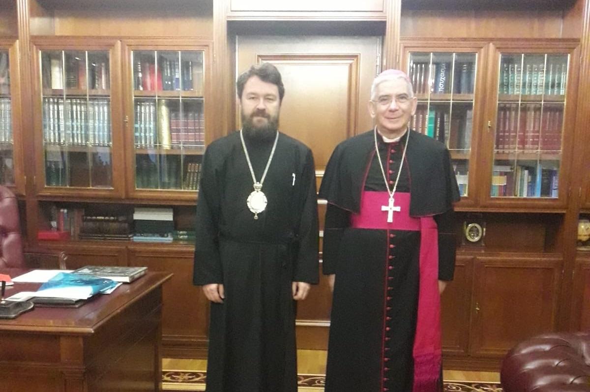Monsignor Pennisi in Russia per far conoscere il Duomo di Monreale