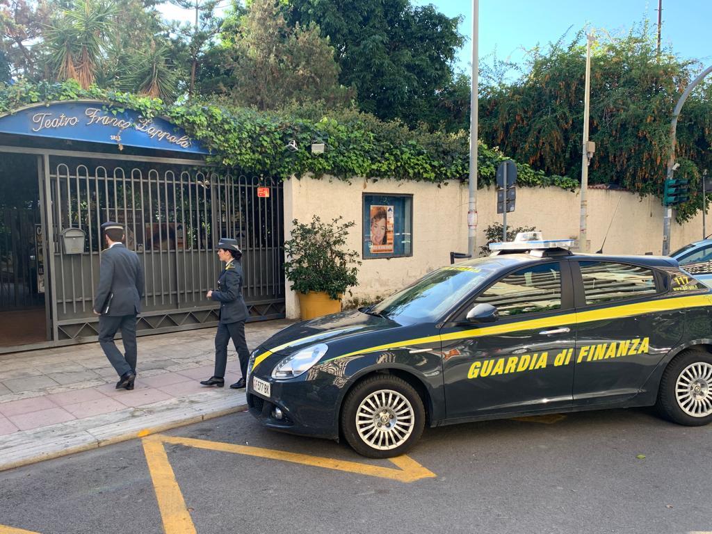 Bancarotta fraudolenta, sequestrato il Teatro Zappalà