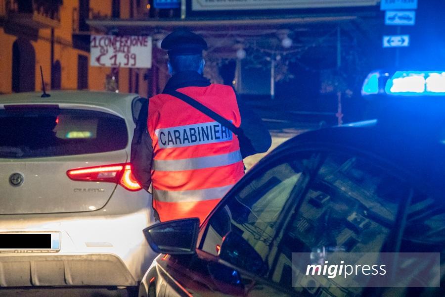 La nostra notte a bordo di una pattuglia dei carabinieri di Monreale