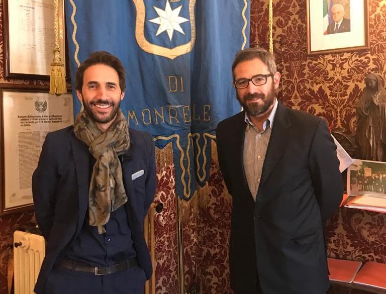 """""""Partita del cuore"""", il presidente della Nazionale Azzurri a Monreale"""