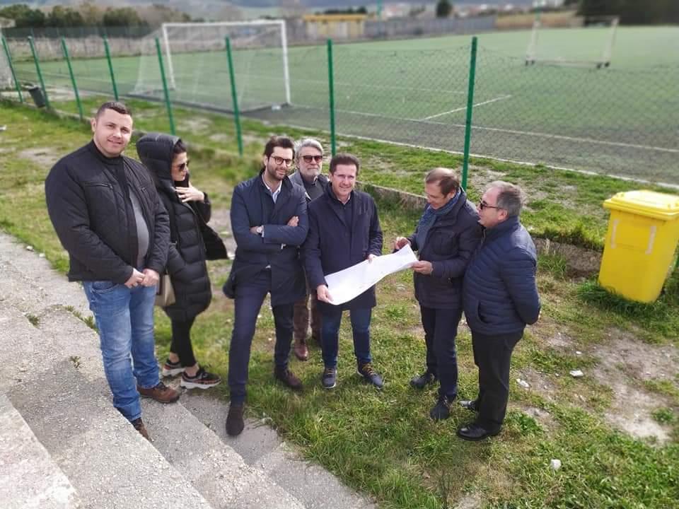 Via ai lavori sul campo sportivo: finanziati i lavori con un milione di euro