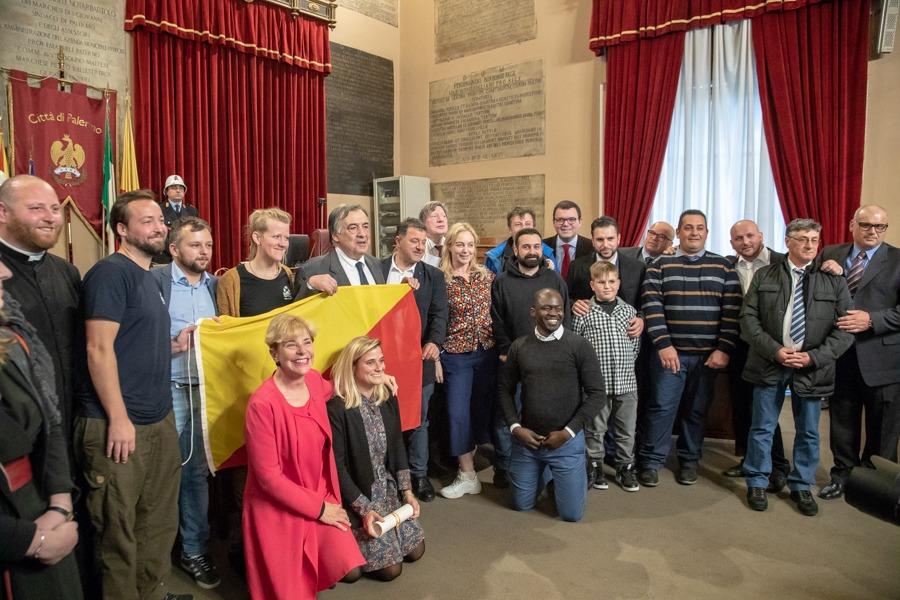 Il comune di Palermo premia le Ong che hanno salvato vite umane in mare