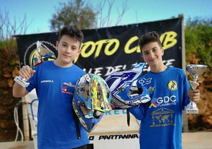 Motocross, a Partanna sul podio c'è anche un giovane monrealese