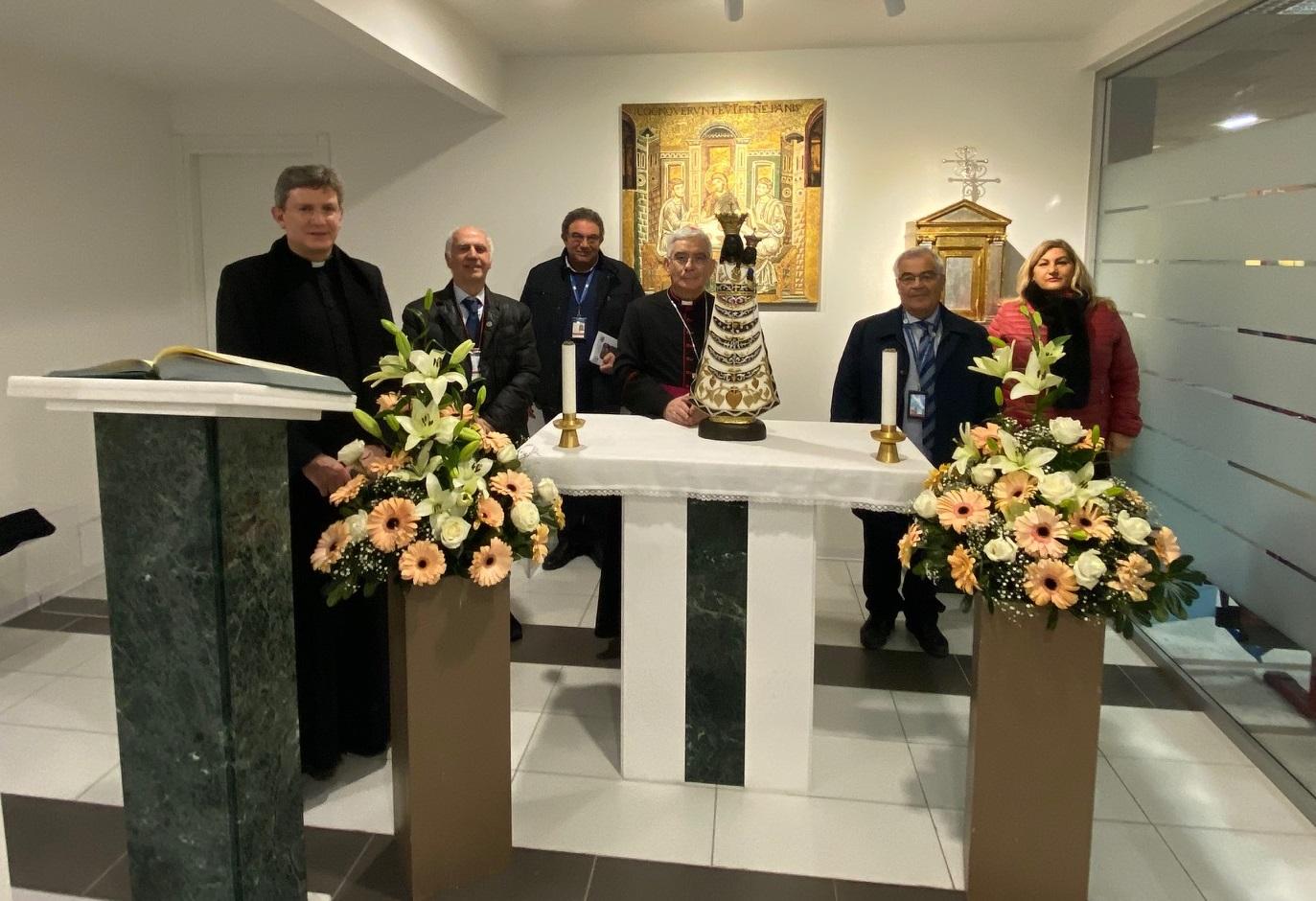 Giubileo Lauretano, Pennisi accoglie la statua della Madonna di Loreto
