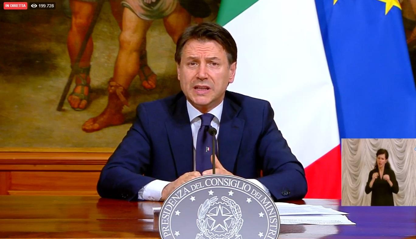 """Il premier Giuseppe Conte: """"Ecco la fase due"""". Cosa si può fare"""