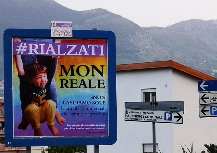 #rialzatiMonreale: la nuova campagna per il rilancio dell'economia locale