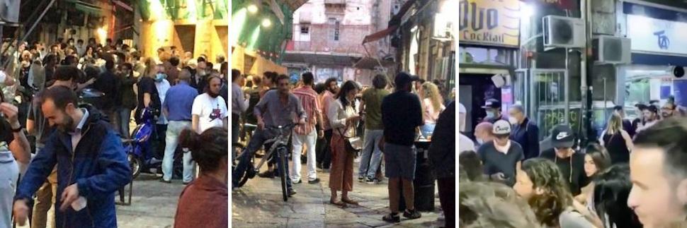 Coronavirus, controlli e sanzioni a Palermo nei luoghi della movida