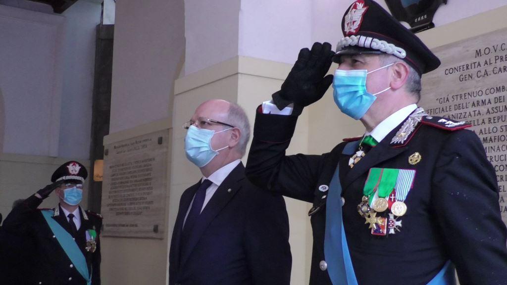 Festa dell'Arma dei Carabinieri: una cerimonia anche a Palermo – VIDEO