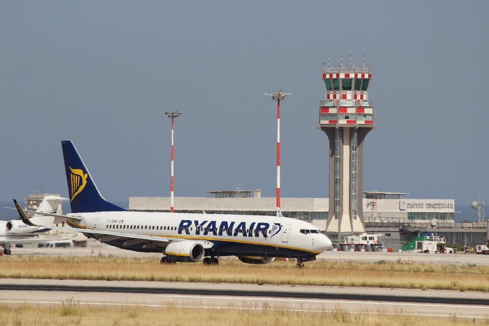 Estate 2020, riprendono i voli Ryanair: 26 rotte dall'aeroporto di Palermo